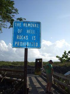 hell, cayman islands