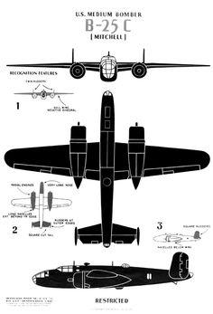 1941 ... B-25 'Mitchell' medium bomber | Flickr - Photo Sharing!