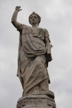Faith, Forefathers monument, Plymouth, Ma