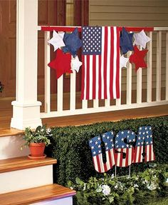 Coordinate your outdoor display with the lively colors of the #Patriotic Pride Garden Decor. Your yard will be the envy of the neighborhood!