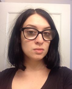Goin' all natural today. :3 #natural#nomakeup#glasses . #July#girl#selfie#hair#makeup#nails#nailart#alternative#goth#college#art#student#artstudent#photo#personal#picture#today#me#myself#2017 http://butimag.com/ipost/1554540113881865517/?code=BWS1f9NBh0t