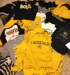 Having pretty much everything you own be WSU!! #WATCHUS