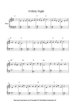 Easy Classical songs Sheet Music 45 O Holy Night Easy Version Sheet Music for Piano In 2019 Christmas Piano Sheet Music, Free Violin Sheet Music, Beginner Piano Music, Trumpet Sheet Music, Easy Sheet Music, Easy Piano Sheet Music, Song Sheet, Piano Sheets For Beginners, Violin Songs