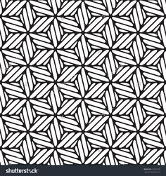 Black And White Graphic Pattern Abstract Vector Background. Modern Stylish Texture. - 419252302 : Shutterstock