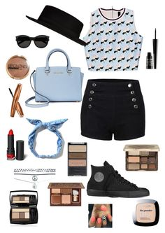 """#20"" by b3ttyw3ldon on Polyvore featuring Converse, Michael Kors, River Island, Yves Saint Laurent, Wet Seal, Wet n Wild, Too Faced Cosmetics, Lord & Berry, H&M and Monki"