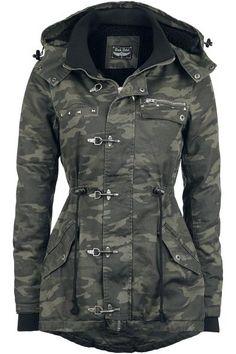 Carabiner Jacket van Rock Rebel by EMP