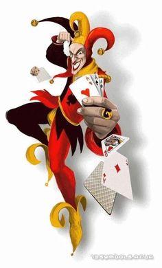 Joker of Hearts Joker Playing Card, Joker Card, Playing Cards, Chicano Love, Chicano Art, Art Du Joker, Clowns, Joker Clown, Le Clan