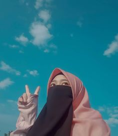 Pink Wallpaper Backgrounds, Niqab Fashion, Hijab Collection, Hijab Cartoon, Islamic Girl, Hijab Niqab, Gif Photo, Muslim Women, Aesthetic Girl