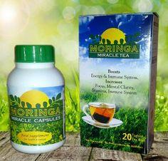 MORINGA CAPSULES AND TEA...