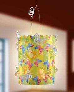 ©efco-freizeit-engel.de Gartenlaterne mit Schmetterlingen