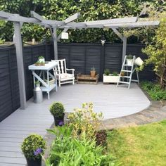 80 Awesome Modern Garden Fence Design For Summer Ideas Back Garden Design, Modern Garden Design, Fence Design, Patio Design, Diy Design, Design Ideas, Contemporary Garden, Word Design, Design Art