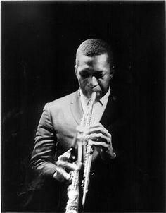 John Coltrane - by Lee Tanner
