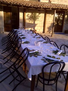 Evening meal in Trapani, Sicily www.tuscanytennis.com