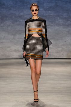 48 photos of Bibhu Mohapatra at New York Fashion Week Spring 2015.