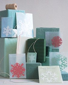 Greeting card idea from:  http://www.marthastewart.com/267554/snowflake-cards#slide_12