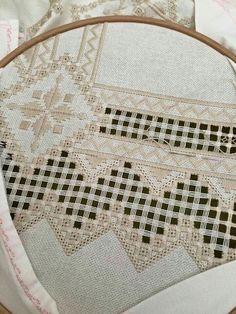 Resultado de imagen de hardanger embroidery #hardangerembroidery