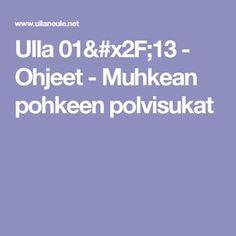 Ulla 01/13 - Ohjeet - Muhkean pohkeen polvisukat Knitting, Crochet, Tricot, Breien, Stricken, Ganchillo, Weaving, Knits, Crocheting