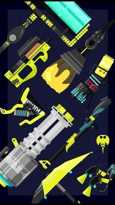 Hero weapons