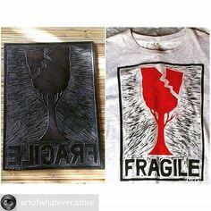 """from @artofwhatever.store - AOW PROJECT  Opens to wood cut print on clothes SLINAT ART OF WHATEVER . Kita akan mencetak>#treesisfragile  by @Slinat . Bawa: T-shirt hoody denim jacket tote bag ke @artofwhatever.store . Upah: 50k/1 cetakan Atau barter dengan 2 tshirt layak pakai /1 cetakan . Contak: WA: 082 236 239 544 @artofwhatever.store (profile) / DM . Pengumpulan pakaian dimulai hari ini sampai hari KAMIS26Januari2017 . """"In good we trust (delete) in up cycle we no trash"""" . #woodcut…"""