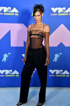 Bella Hadid – 2020 MTV Video Music Awards Isabella Hadid, Mtv Video Music Award, Music Awards, Gisele, Actor Model, Film Festival, Supermodels, Celebrity Style, Actors