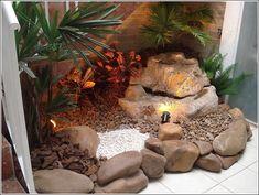 interior rock landscaping