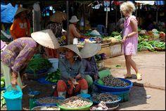 Market in Phu Quoc, Veitnam