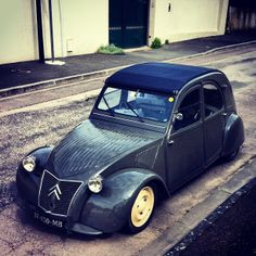 #citroen #2cv #snail #custom | Flickr - Photo Sharing!