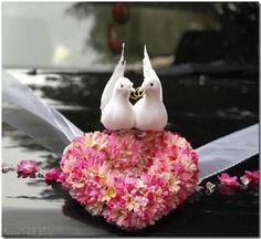 wedding decoration for car