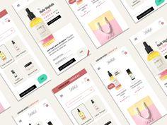 Lotion, Mobile Web Design, Jojoba, Pores, Ui Ux Design, Bullet Journal, Lotions, Cream