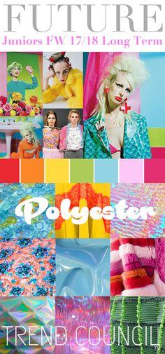 TREND COUNCIL : Polyester Fashion colours 2017-2018 #Luxurydotcom