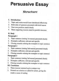 good persuasive essay topic