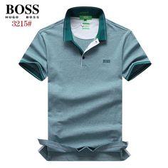 Hugo Boss Polos T-Shirts, Short Sleeve 100% Cotton Tops, Brand Shop BOSTSH-698 28