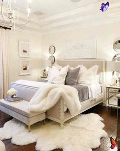 Styled for Spring Home Tour Part 2 - Elegant Ruffle and Lace Spring Master Bedroom <br> Styled for Spring Home Tour Part 2 - Elegant Ruffle and Lace Spring Master Bedroom how to style your room for spring using fresh linens and flowers