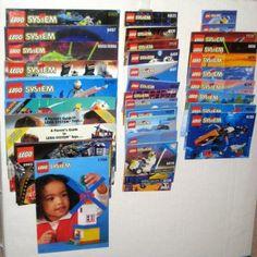 Lego System Instruction Manual Book Booklet Large Lot $8