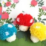 25 Wonderful Pom Pom Crafts and Project Ideas - Red Ted Art's Blog : Red Ted Art's Blog