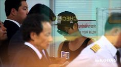 """[2014.08.25] Kim Hyun Joong @ depart from Suvarnabhumi Airport , Bkk.TIME 4:00 - POSTED 26AUG2014 - MUSICAL THEME """"NOTHING ON YOU"""" AND """"WORDS I WANT TO SAY """" OF KHJ / QUE BELLO VERLO CHATEANDO."""