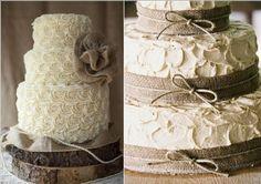 stile country - wedding cake