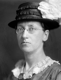 American pacifist and Nobel Peace Prize laureate Emily Greene Balch (1867-1961)