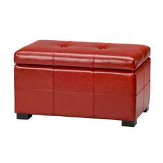 Safavieh Furniture HUD8230 Maiden Small Tufted Storage Bench