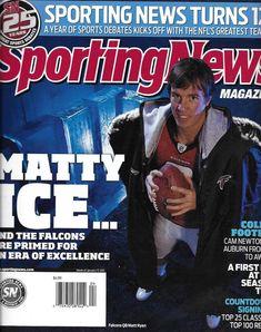 Sporting News magazine Matt Ryan College football NHL hockey mid season report