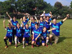 ACG School Jakarta U13 girls soccer team