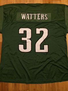 078df8032 Philadelphia Eagles Ricky Watters Home Jersey Mens 52 XL Starter RARE NFL  Green