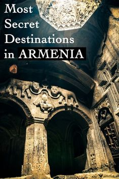 Old monasteries, dramatic mountains and a history full of mysterious legends. We uncover the most secret - and stunning Armenia sights. Armenian History, Armenian Culture, Europe Travel Tips, Asia Travel, Travel Destinations, Armenia Travel, Bon Plan Voyage, Secret Places, Silk Road