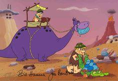 The Flintstones - Rock Stars - Hanna-Barbera Limited Editions - World-Wide-Art.com