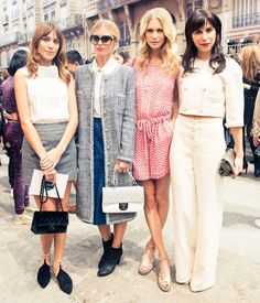 Backstage #CHANELs Frow. www.thecoveteur.c #pixiemarket