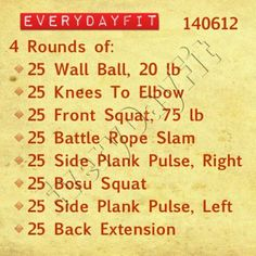 #EveryDayFit 140612  N/A bosu squat and back extension. Time 45:04.5