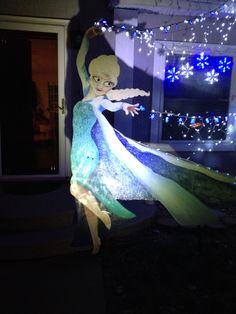 Frozen Christmas decorations!