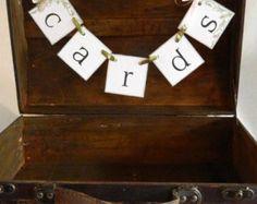 card box sign – Etsy