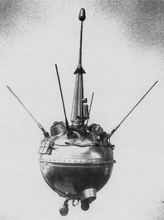 On September 12, 1959, Soviet spaceprobe Luna 2 was launched. It was the first spacecraft to reach the surface of the Moon and was also the first man-made object to land on another celestial body.