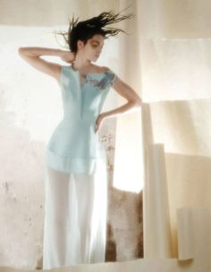 Unconventional Beauty  - Nancy Gabriela's 'Unconventional Beauty' editorial spotlights daring makeup looks by Margaret Snider. Models Julia Schaeffler and...